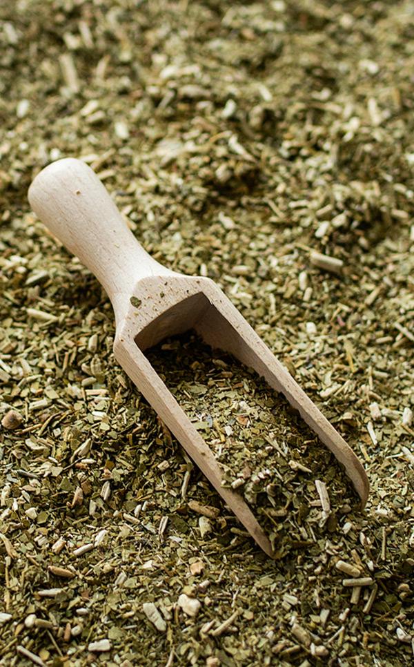 Nabierka - drewniana | do yerba mate ziół przypraw