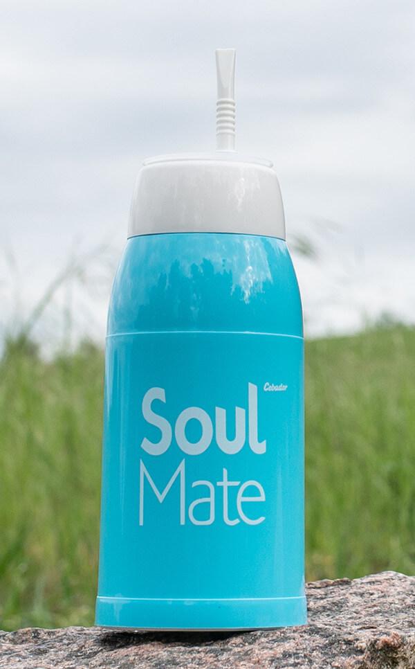 Yerbomos 3w1 - Soul Mate | błękitny | termos
