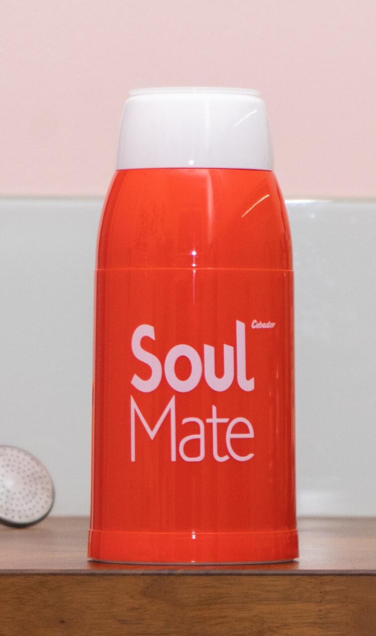 Yerbomos - Soul Mate czerwony | matero, bombilla, termos w jednym | 500 ml