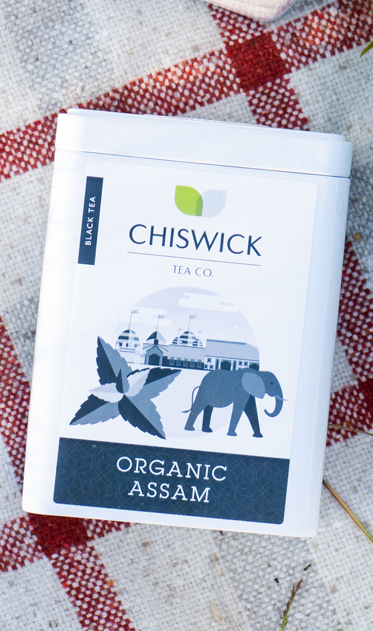 Chiswick Tea - Assam Organic | herbata czarna puszka | 100g