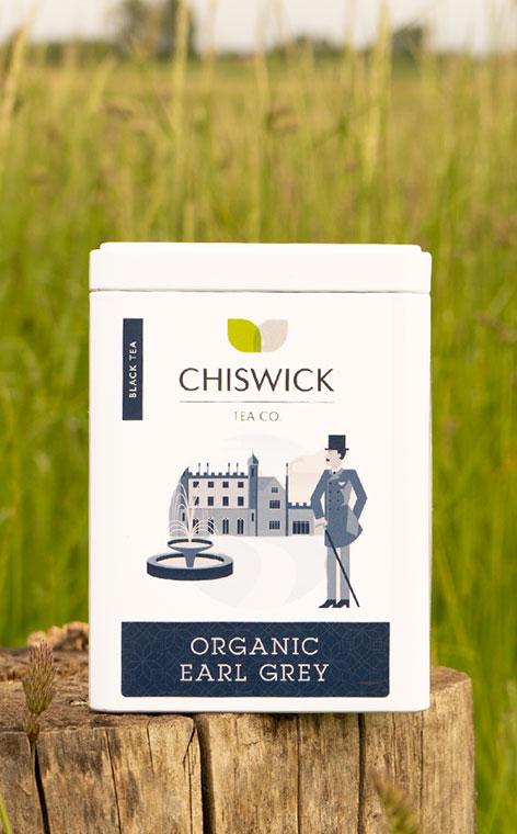 Chiswick Tea - Earl Grey Organic | herbata czarna puszka | 100g