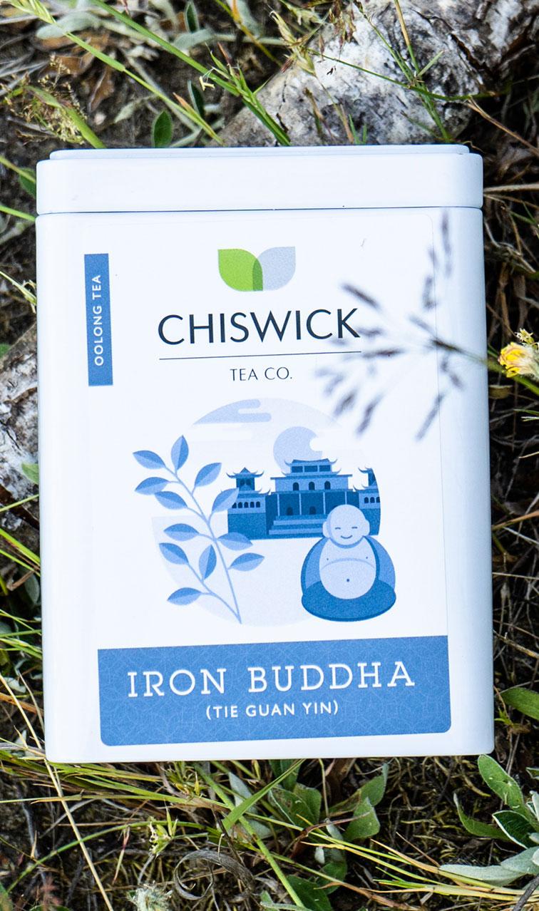 Chiswick Tea - Iron Buddha | herbata oolong puszka | 100g