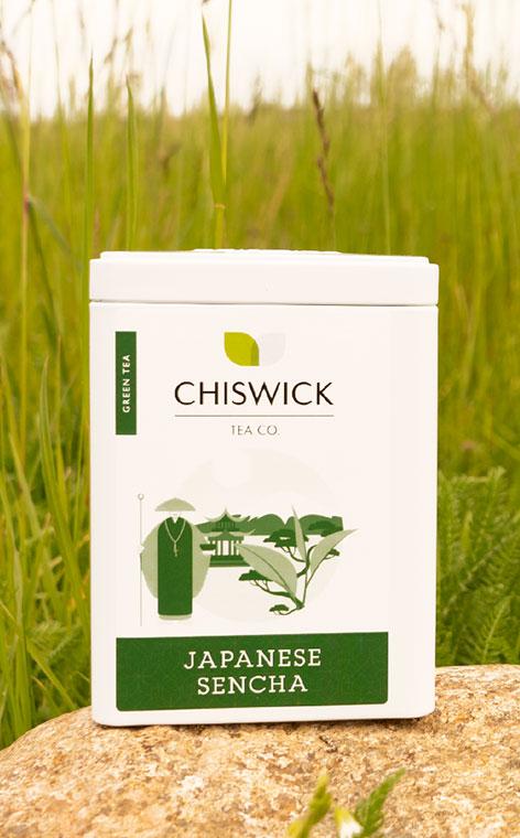 Chiswick Tea - Japanese Sencha | herbata zielona puszka | 100g