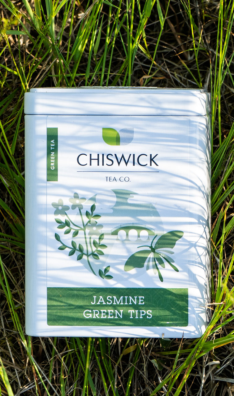 Chiswick Tea - Jasmine Green Tips | herbata zielona puszka | 100g