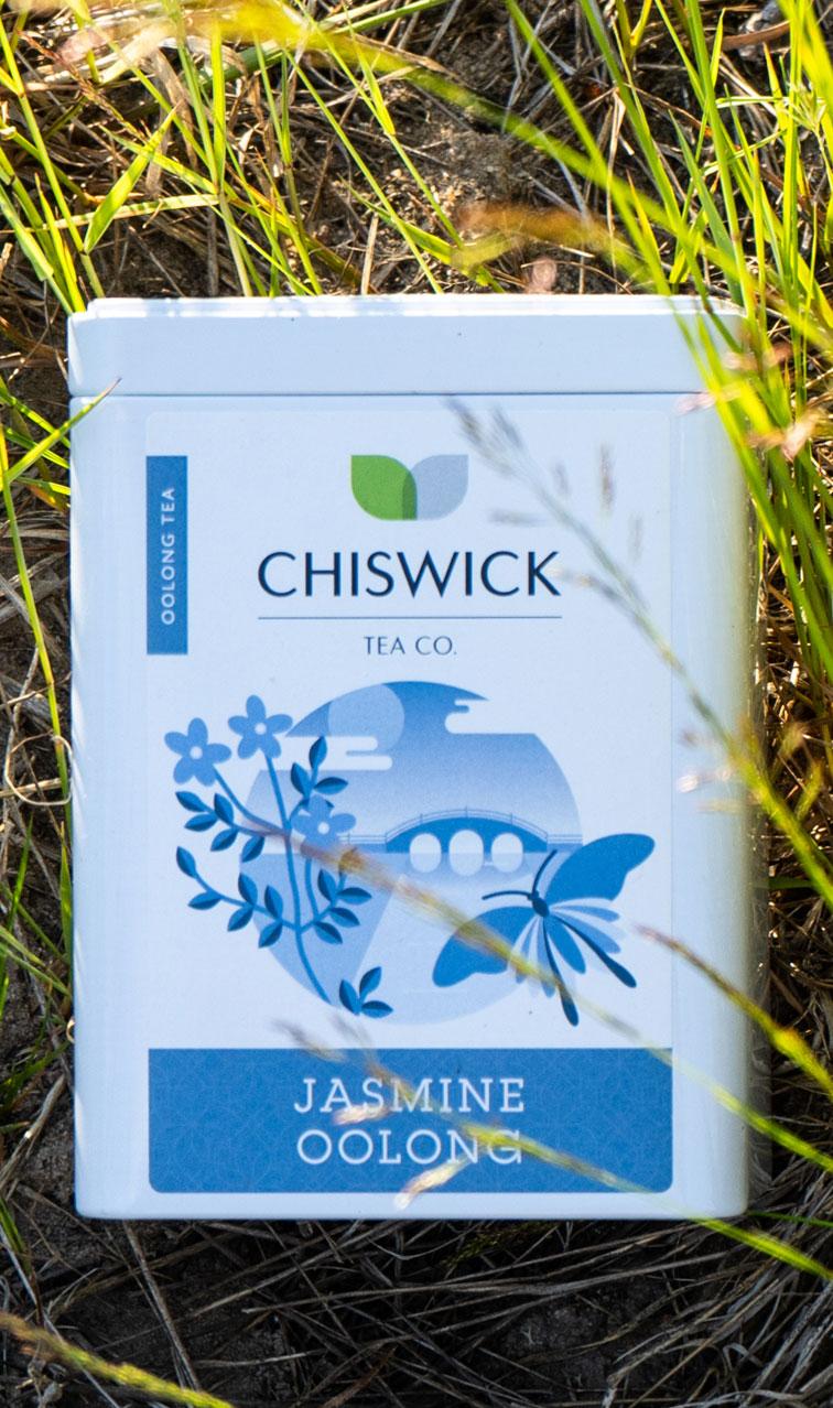Chiswick Tea - Jasmine Oolong | herbata oolong puszka | 100g