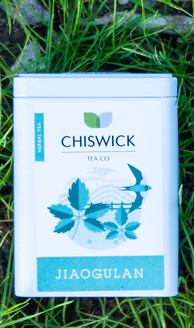 Chiswick Tea - Jiaogulan | herbata ziołowa puszka | 50g