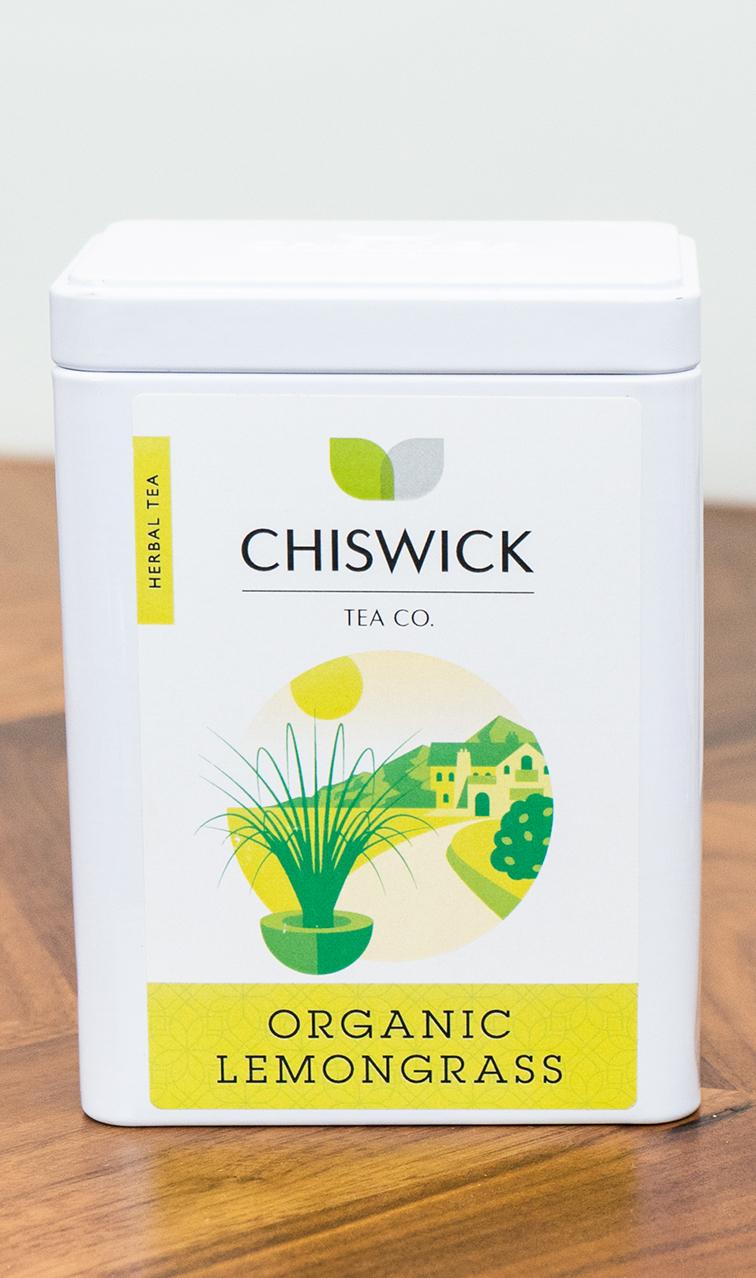 Chiswick Tea - Lemongrass Organic | herbata ziołowa puszka | 50g