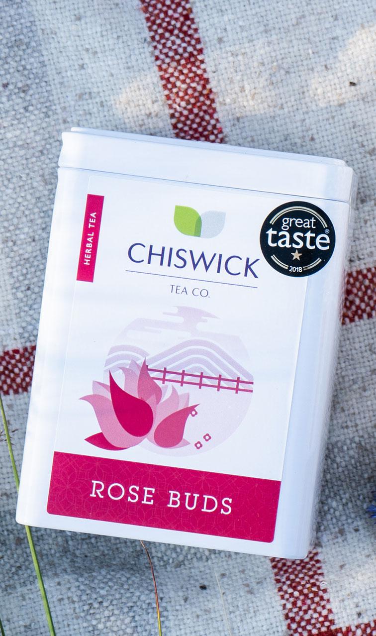 Chiswick Tea - Rose Buds | napar ziołowy puszka | 50g