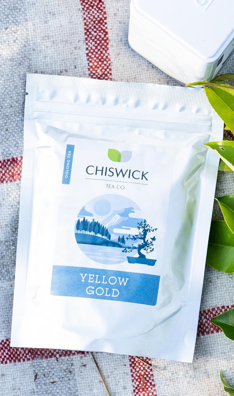 Chiswick Tea - Yellow Gold | herbata oolong | 100g