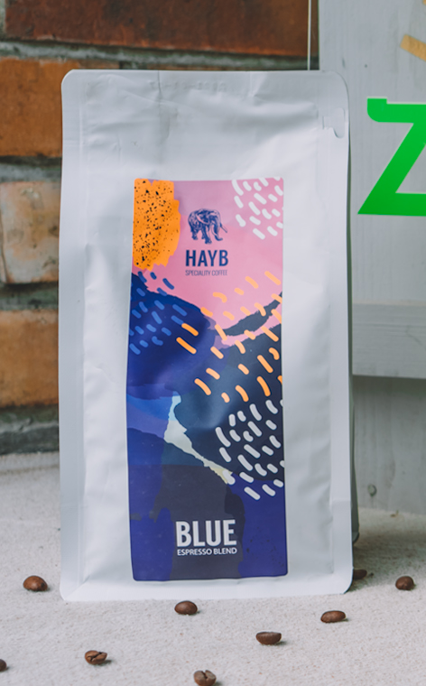 Coffee Republic - Blue Republic | kawa ziarnista | 500g