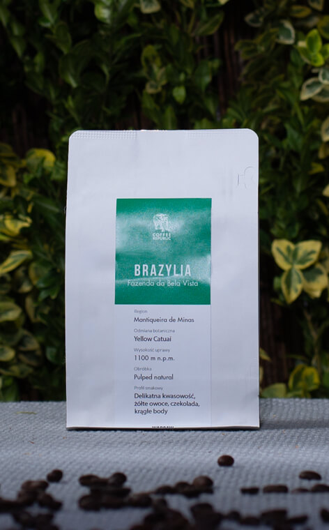 Coffee Republic - Brazil Fazenda de Bela Vista | kawa ziarnista | 250g
