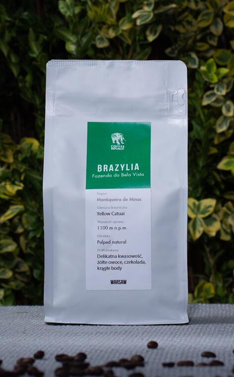 Coffee Republic - Brazil Fazenda de Bela Vista | kawa ziarnista | 500g