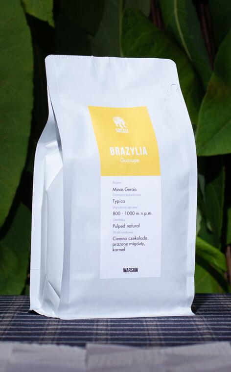 Coffee Republic - Brazil Guaxupe | kawa ziarnista | 500g