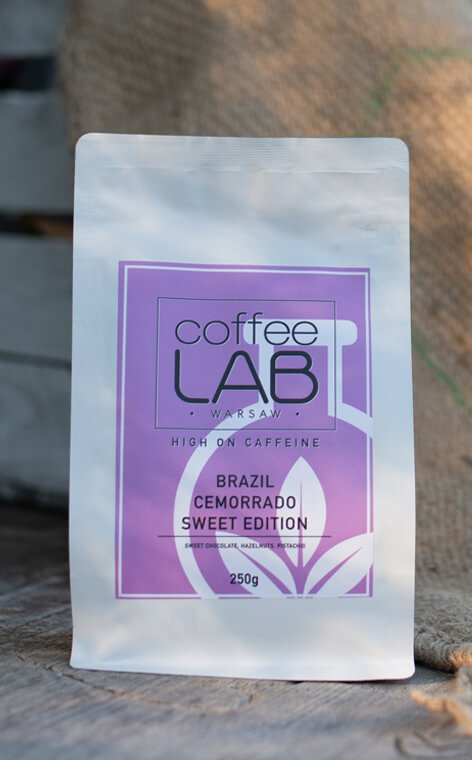 Coffeelab - Brazil Cemorrado Sweet Edition | kawa ziarnista | 250g