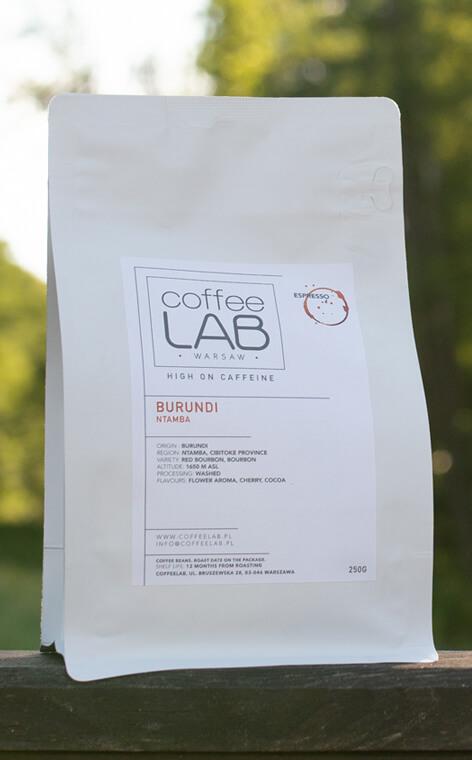 Coffeelab - Burundi Ntamba | kawa ziarnista | 250g