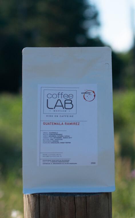 Coffeelab - Guatemala Ramirez | kawa ziarnista | 250g