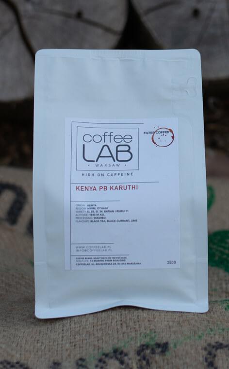 Coffeelab - Kenya Karuthi PB | kawa ziarnista | 250g