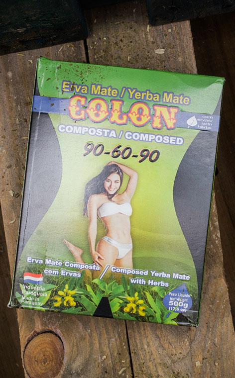 Colon - 90-60-90 na odchudzanie | yerba mate | 500g