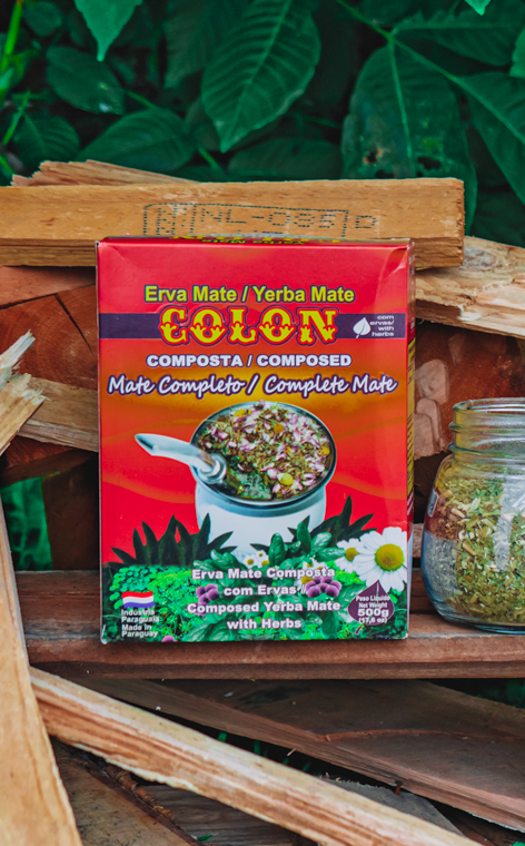 Colon - Composta con Stevia | yerba mate | 500g