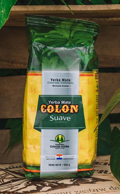Colon - Suave Molienda Gruesa | yerba mate soft | 500g
