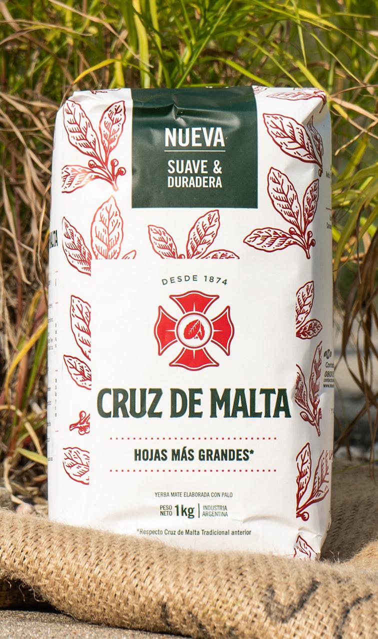 Cruz de Malta - Elaborada Con Palo | yerba mate | 1kg