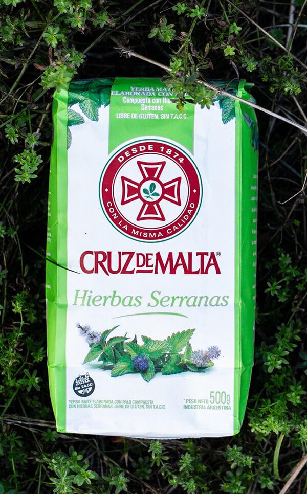 Cruz de Malta - Hierbas Serranas | yerba mate | 500g
