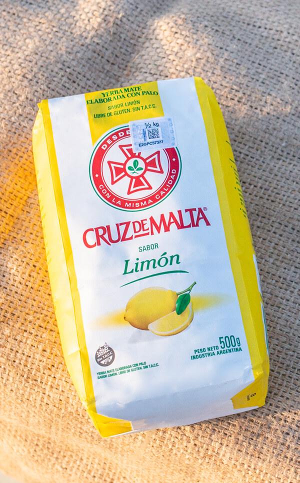 Cruz de Malta - Limon cytrynowa | yerba mate | 500g