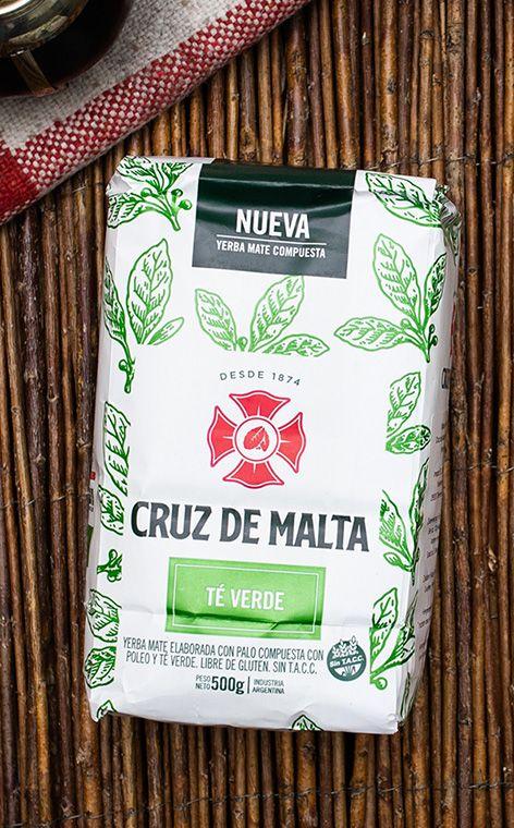 Cruz de Malta - Te Verde | yerba mate zielona herbata z miętą | 500g
