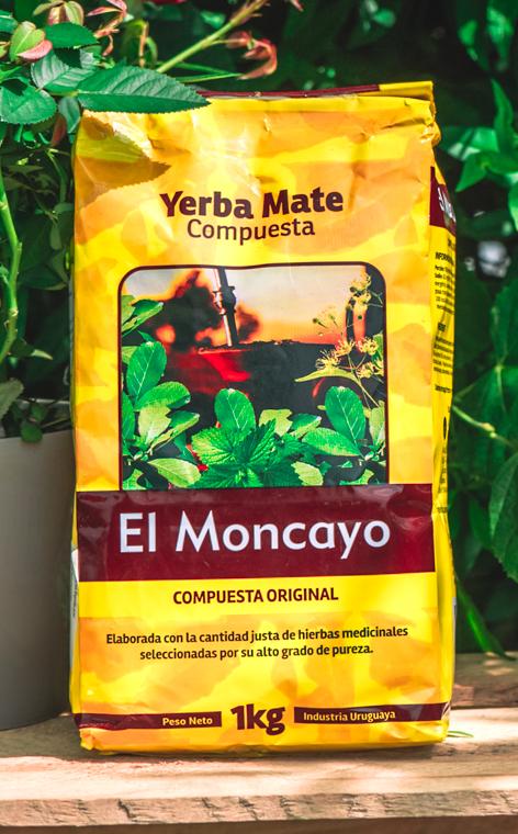 El Moncayo - Compuesta Original | urugwajska yerba mate | 1kg