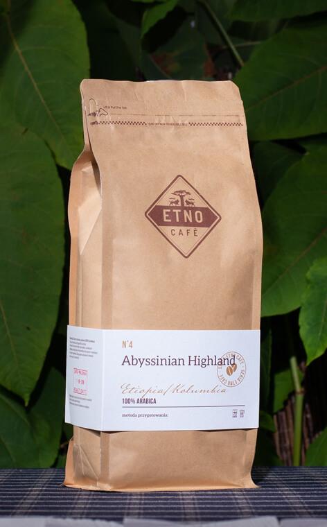 Etno Cafe - Abyssinian Highland | kawa ziarnista | 1kg