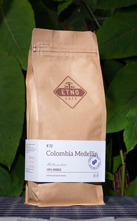 Etno Cafe - Columbia Medellin | kawa ziarnista | 1kg