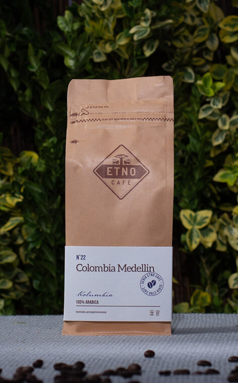Etno Cafe - Columbia Medellin | kawa ziarnista | 250g