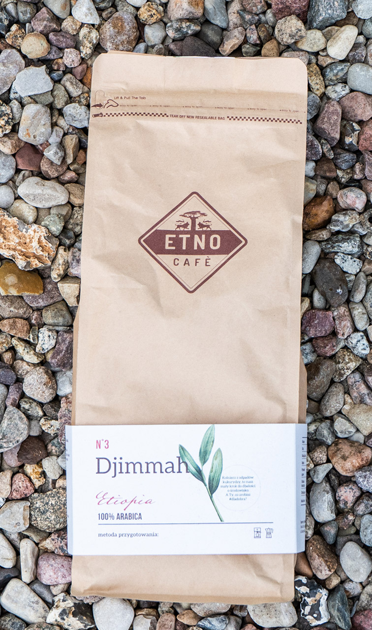 Etno Cafe - Djimmah | kawa ziarnista | 1kg