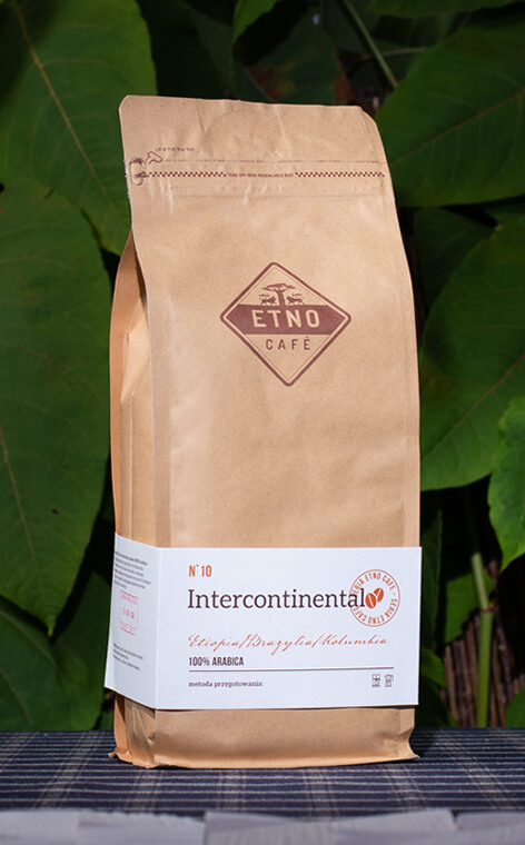 Etno Cafe - Intercontinental | kawa ziarnista | 1kg