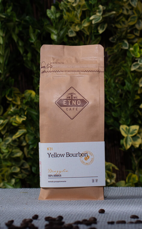 Etno Cafe - Yellow Bourbon | kawa ziarnista | 250g