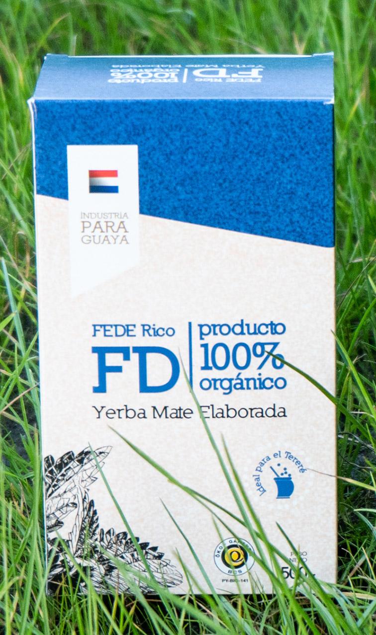 Fede Rico FD - Elaborada 100% Organica | yerba mate organiczna | 500g