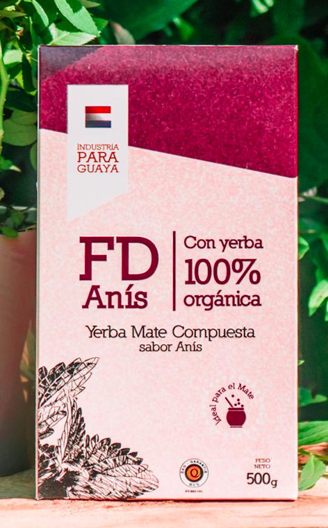 Fede Rico FD - Anis Organica   yerba mate organiczna   500g