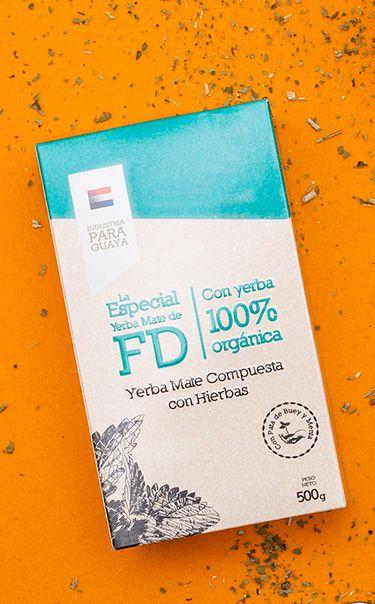 La Especial de FD - Pata de Buey z Miętą | yerba mate ziołowa | 500g