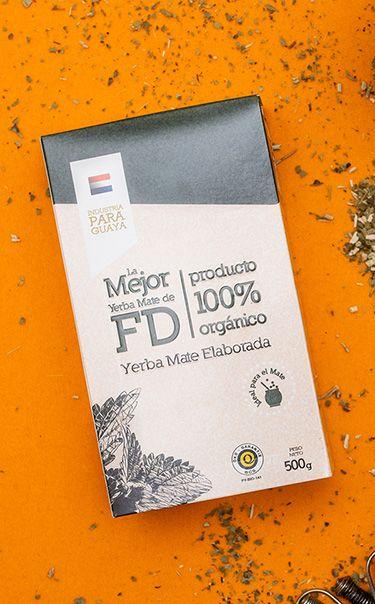 La Mejor de FD - Despalada | yerba mate organiczna | 500g