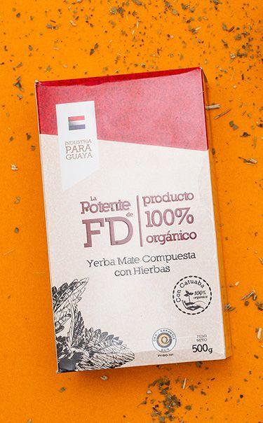 La Potente de FD - 100% Organic Katuava | yerba mate ziołowa | 500g