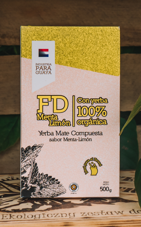 Menta - Lemon de FD   yerba mate owocowo-ziołowa   500g