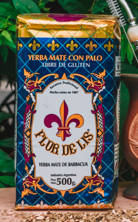 Flor de Lis - Yerba mate de barbacua | rzemieślnicza yerba mate | 500g