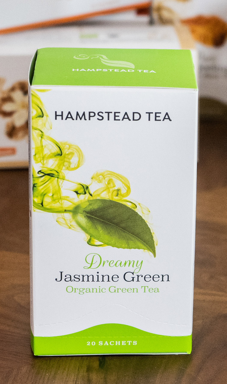 Hampstead Tea - Dreamy Jasmine Green | zielona herbata bio | 20 saszetek