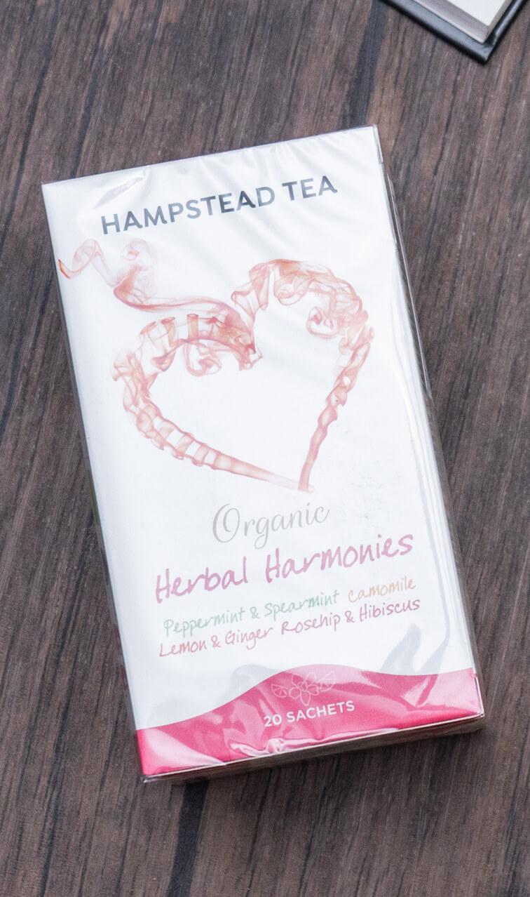 Hampstead Tea - Herbal Harmonies   miks herbatek ziołowych   20 saszetek