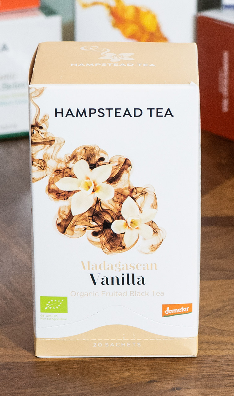 Hampstead Tea - Madagascan Vanilla | czarna herbata bio | 20 saszetek