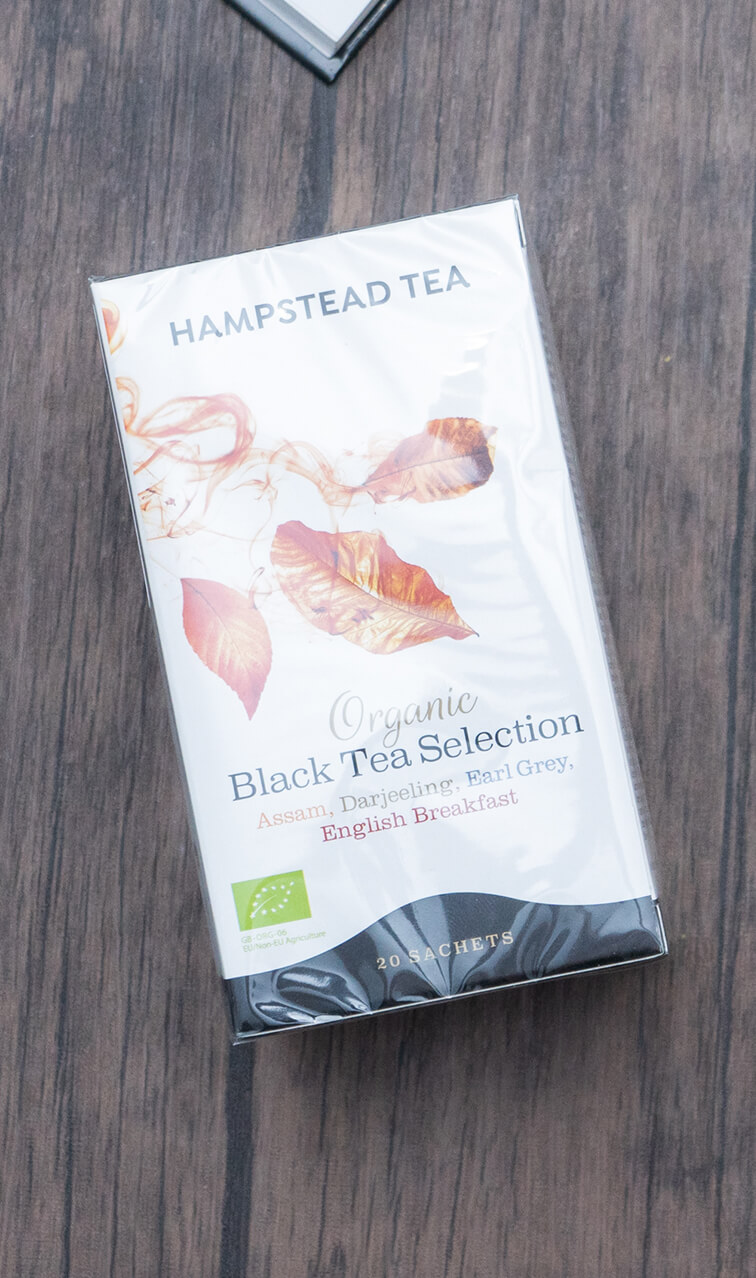 Hampstead Tea - Organic Black Tea Selection | miks czarnych herbat bio | 20 saszetek
