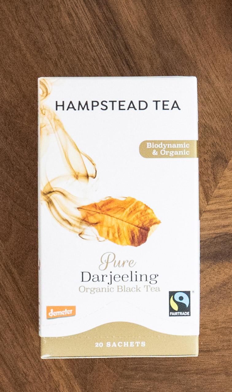 Hampstead Tea - Pure Darjeeling | czarna herbata bio | 20 saszetek