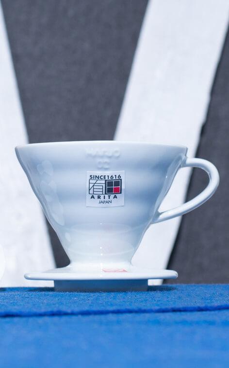 Hario - ceramiczny Drip V60-02 | drip do kawy | Biały