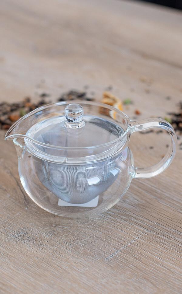 Hario - Chacha Kyusu-Maru | zaparzacz, czajniczek do herbaty | 300ml