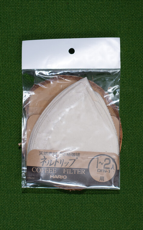 Hario - filtry materiałowe do Woodneck Drip Pot 240 ml FD-1